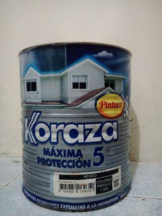 Galon Pintura Koraza Maxima Protección 5
