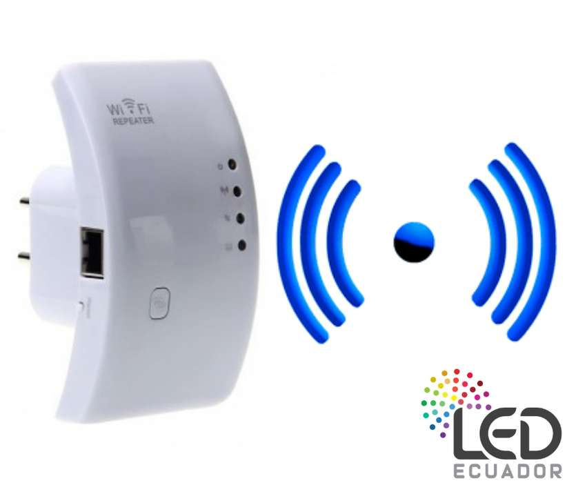 Repetidor Wifi Led Ecuador