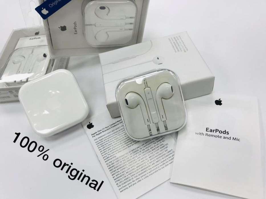 Earpods (manos libres) para Iphone originales (punta stereo)