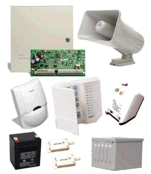 Alarma dsc robo alarma para casa alarma para fabricas sistema de incendio sistema de alarma de seguridad