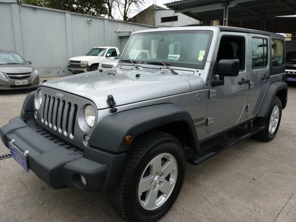 venta jeep wrangler unlimited sport plata 3.6