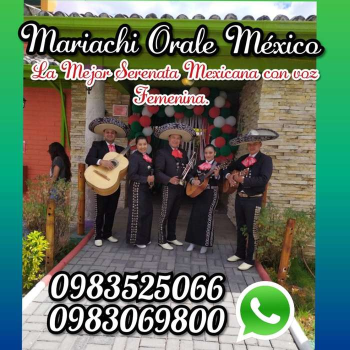 Mariachi Orale con Voz Femenina