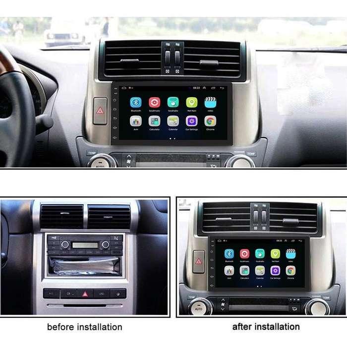 RADIO PARA CARRO ANDROID 8.1 GO WIGI GPS BLUETOOTH YOUTUBE WAZE MIRROR LINK