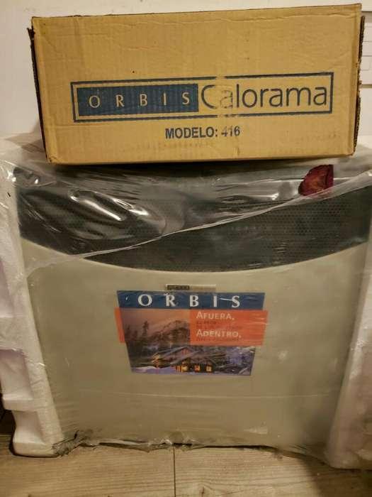 Vendo Calefactor Orbis Nuevo T.balancead