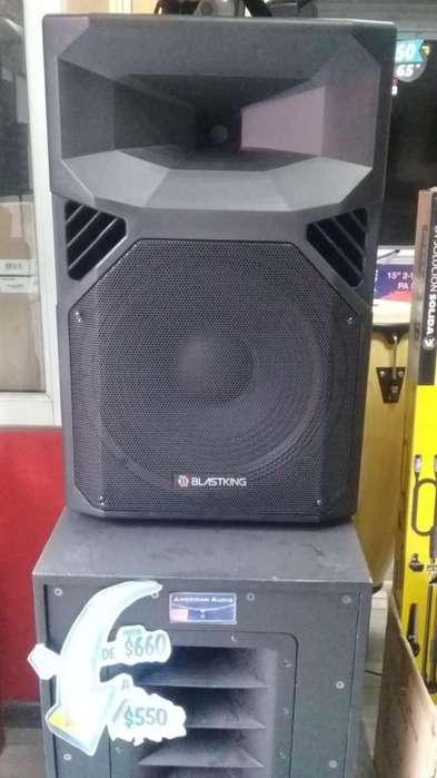 Parlante Amplificado Blastking XS15A