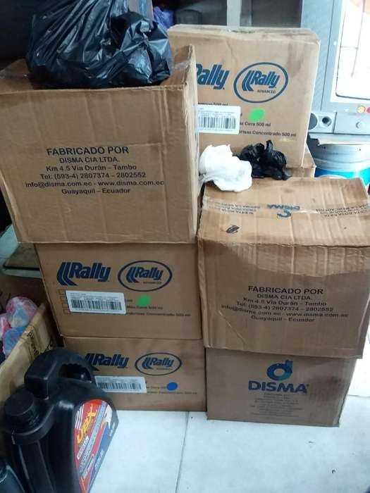 Vendo 14 Cajas 12 Unidades Chanpoo Rally