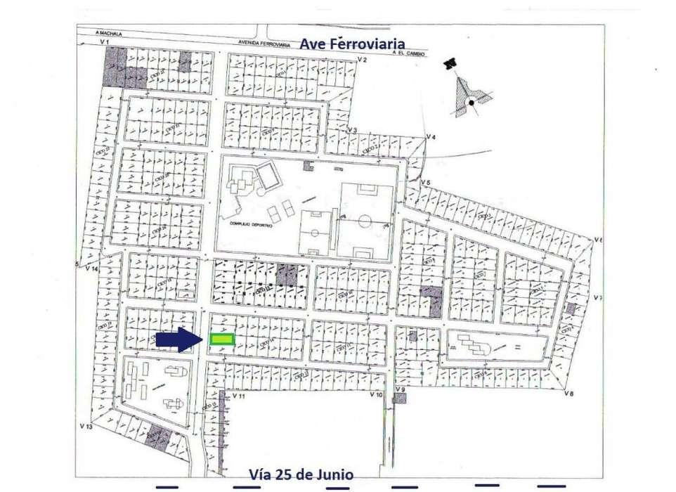 Vendo terreno en Machala a la altura del Shopping Mall