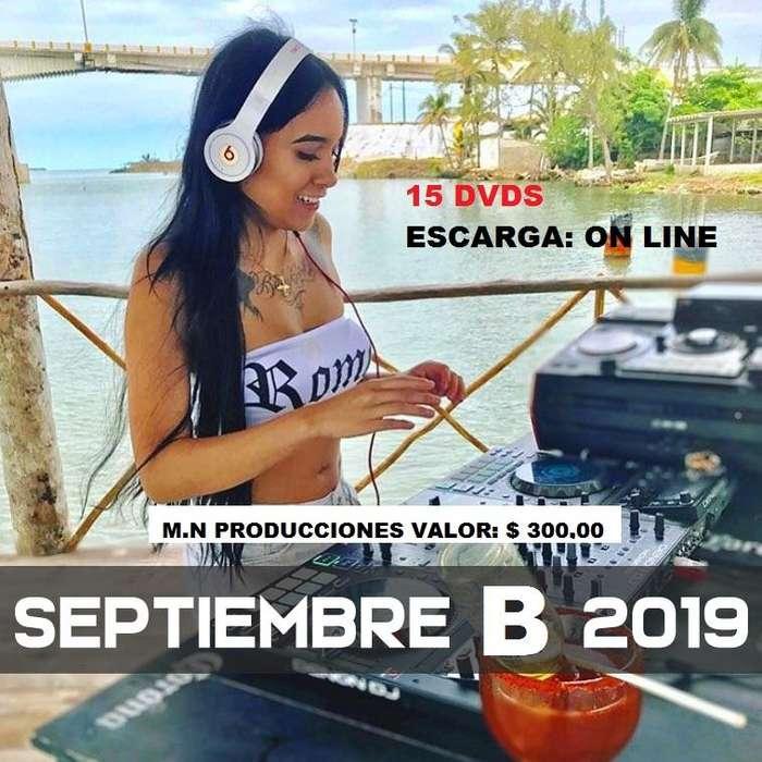 SERVICIO de musica para radios y djs SEP B 2019