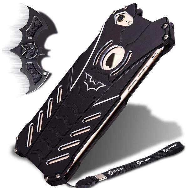 METAL CASE BATMAN PARA IPHONE 7G/8G
