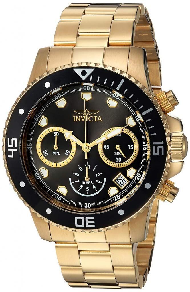 mejor autentico fc729 9d995 Reloj Invicta dorado, deportivo, edición especial. Relojes ...