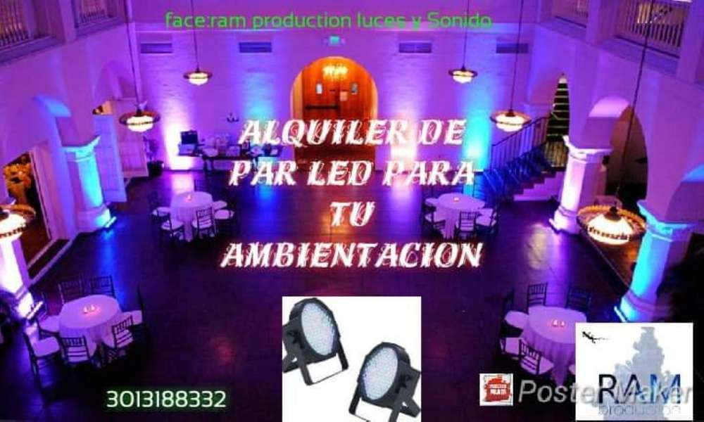 Luces Led para Tus Eventos 3013188332