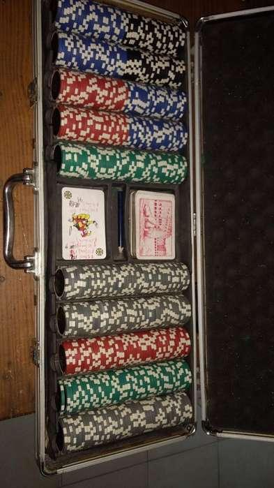 Fichero Poker de 500 Usado