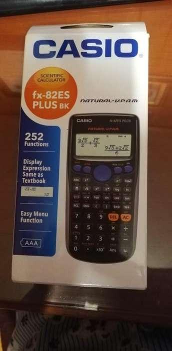 calculadora científica casio fx-81ES PLUS BK