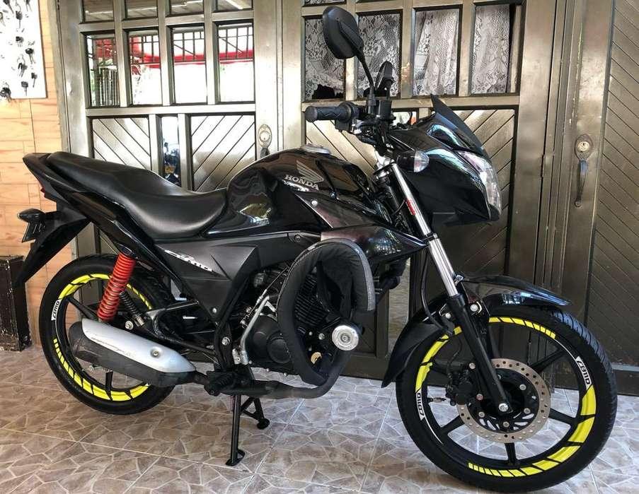 Moto Cb 110 Modelo 2018 Al Dia Hermosa
