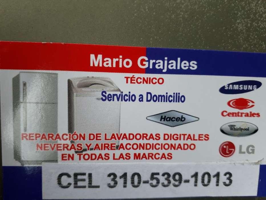 Reparacion de Lavadrs Neveras a Domicili
