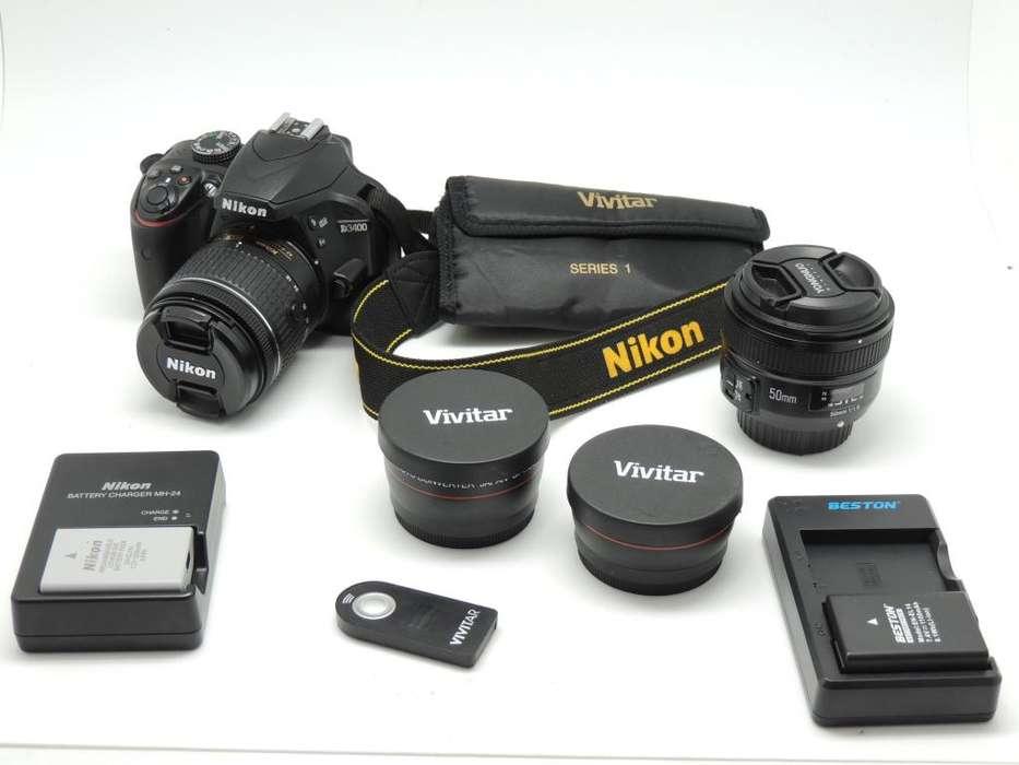 Pack Nikon D3400
