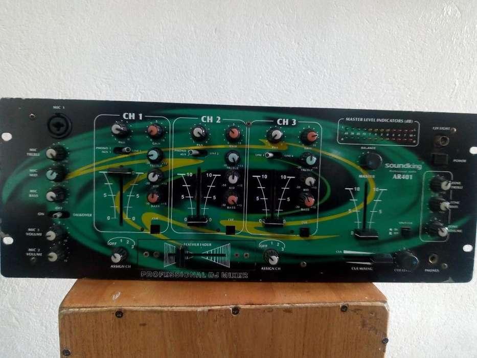 Consola Dj Soundking Ar401