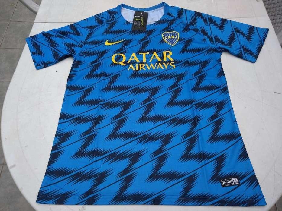Camisetas Boca Juniors Entrenamiento Imp