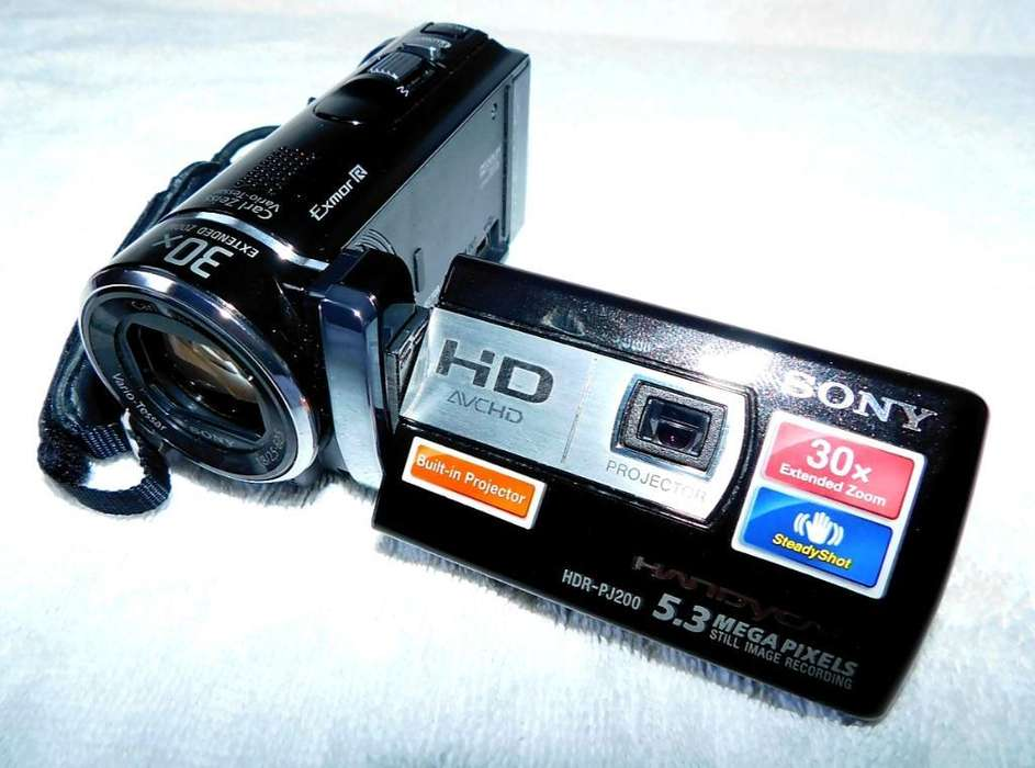 Vendo Cambio <strong>sony</strong> Handycam Hdr-pj200