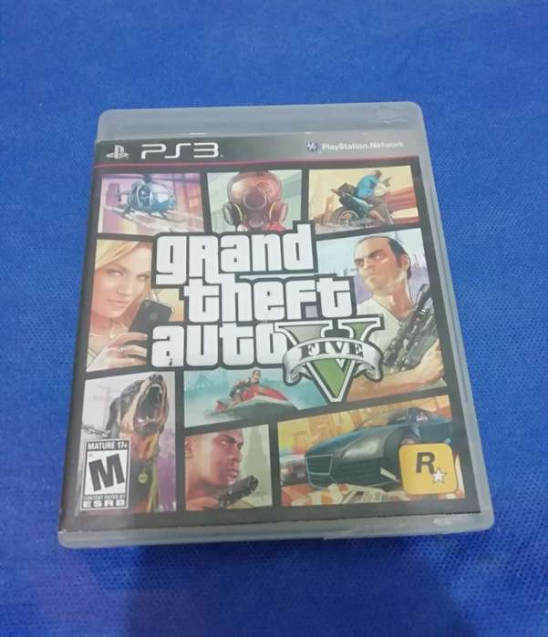 Vendo Juego Grand Theft Auto 5. Gta