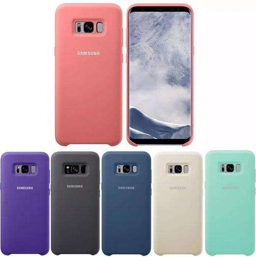 Funda Silicona Silky Soft Touch Samsung S8 S8 Plus Note 8 S9 S9 Plus