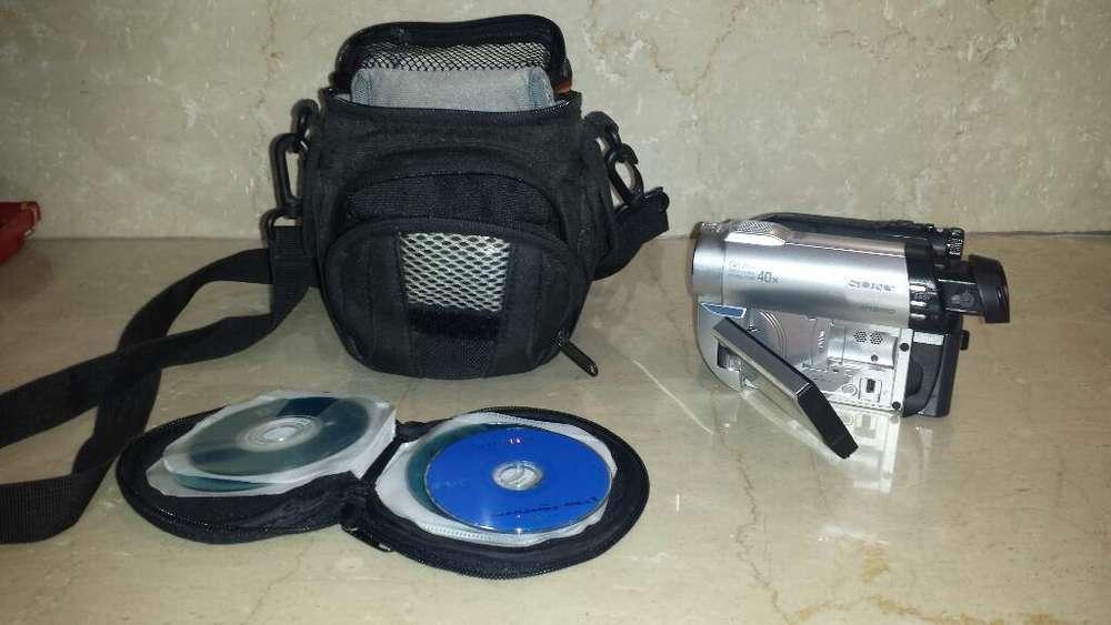 Filmadora Sony Dvd Handyman Camcorder