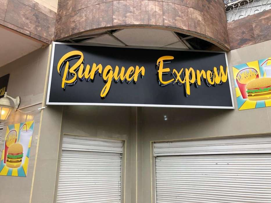 De OPORTUNIDAD!!! Local Comercial de Comida rápida - valle de los chillos - BURGUER EXPRESS