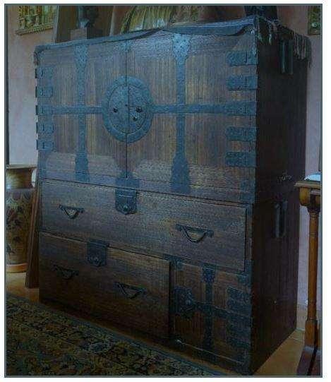 Auténtico mueble antiguo asiático
