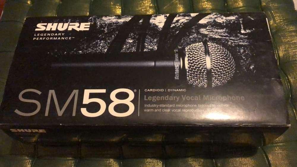 Microfono Sm58 Shure