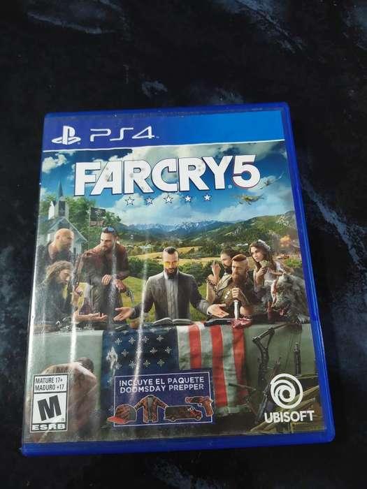 Farcry 5 Ps4 Como Nuevo