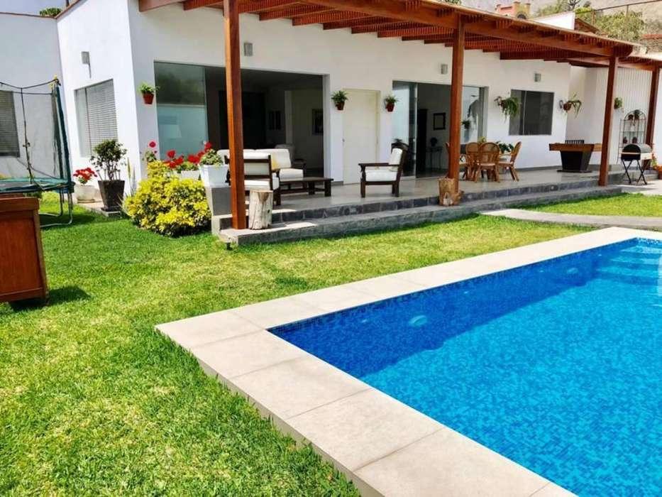 Pasa un fin de semana en Cieneguilla - Alquilo <strong>casa</strong> Moderna Para 15 Personas Piscina Juegos