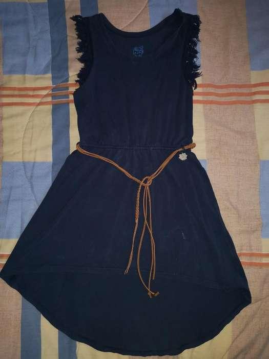 Vestido Offcorss Talla 12 Niña