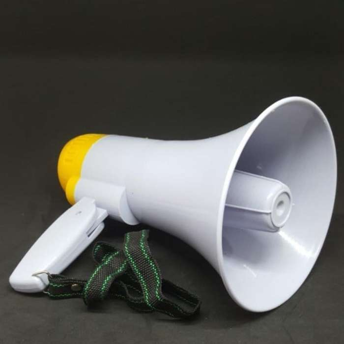 Megáfono Recagable Graba Audio Ful Volum
