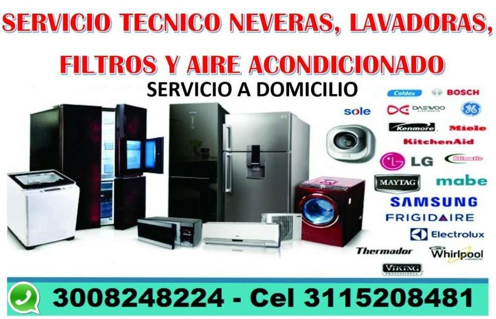 Servicio Tecnico Neveras Lavadoras Aires