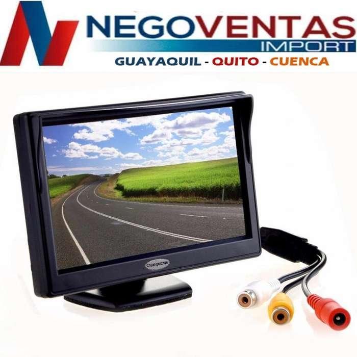 PANTALLA MONITOR 4.5 PARA CAMARA DE RETRO PARA CARRO