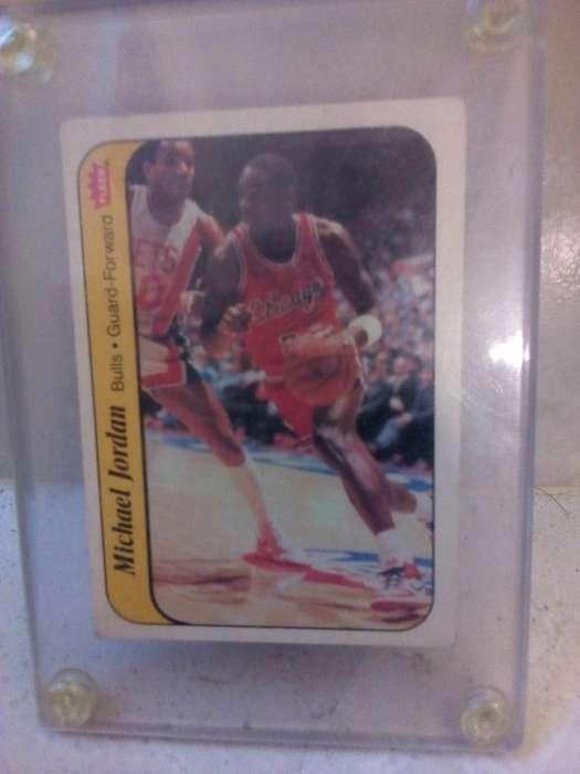 1986-87 Fleer Michael Jordan Novato # 8