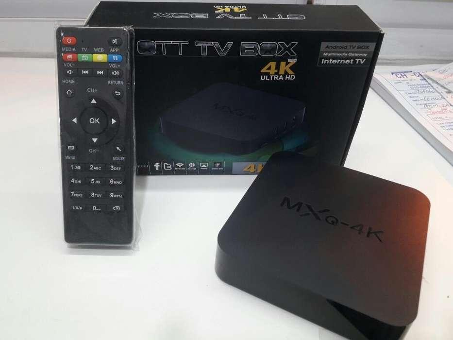 Convertidor de Tv a Smart 4k Ultra Hd.!!