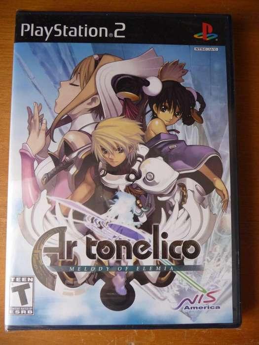 Ar tonelico: Melody of Elemia Ps2 Playstation 2 Sellado