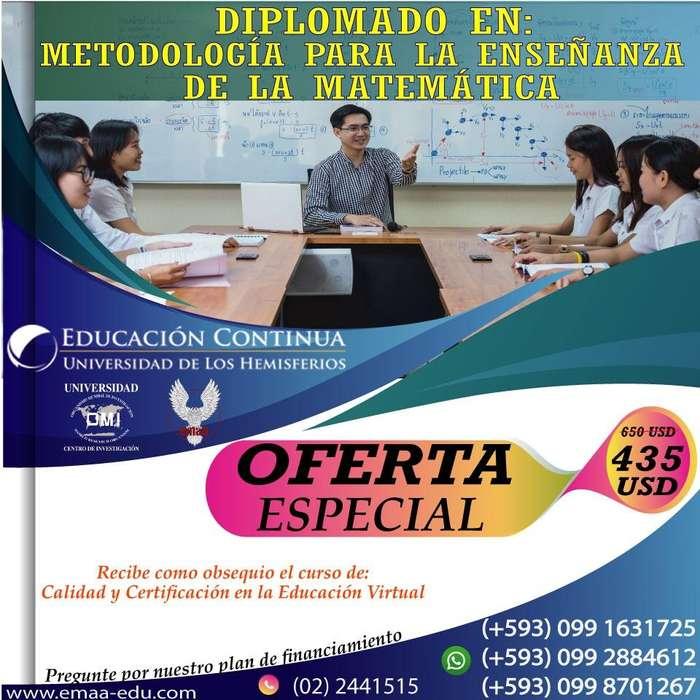 <strong>diplomado</strong> *Metodología de la Enseñanza de la Matemática