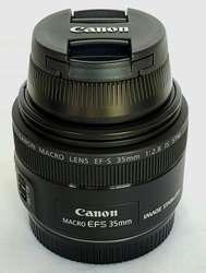 Lente Canon 35 Mm F2.8 Macro