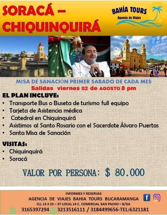 Tour Boyaca O Zoraca Agosto