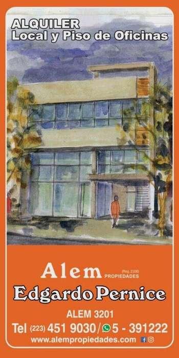Alquiler Local y oficinas, en block o separado, opcional con cocheras
