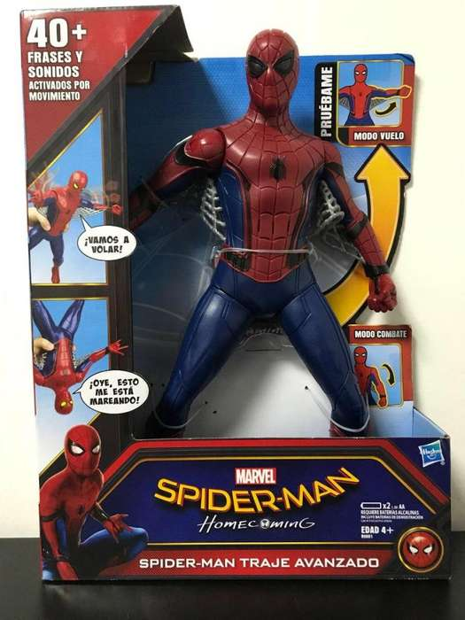SPIDER MAN HOME COMING TRAJE AVANZADO