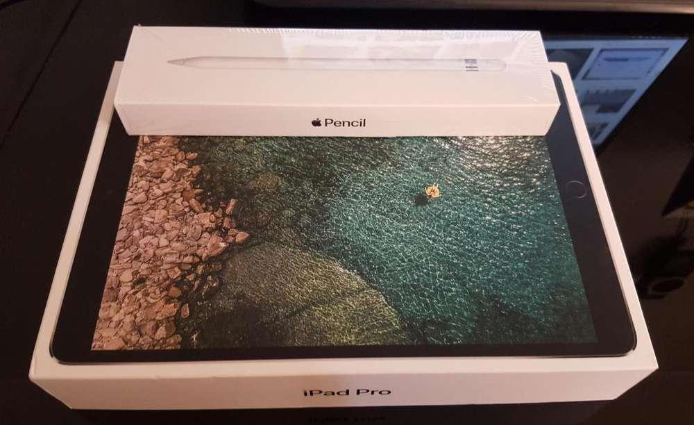 Ipad Pro 10.5 Wifi 64Gb 2da Generación Apple Pencil En Caja