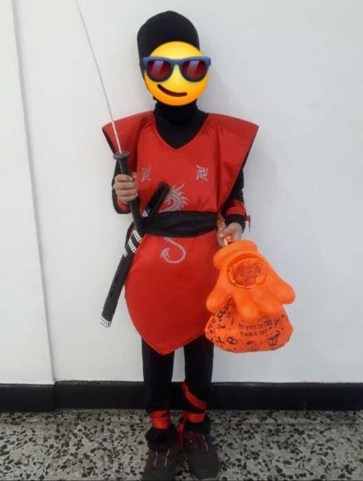 Se Vende Disfraz Ninja Rojo