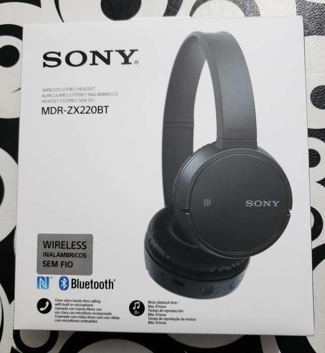 Auriculares Sony zx220BT nuevos con garantía SonyStore