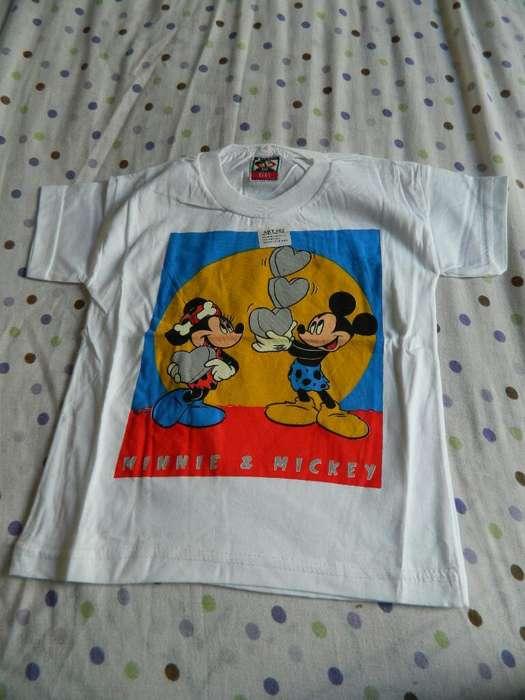 Remeras Disney Nuevas