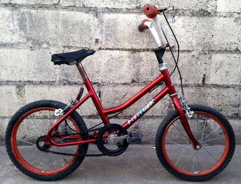 Vendo Bicicleta Unisex Rodado 14 Para Niños De 3 a 6 Años Impecable Solo Detalles Minimos