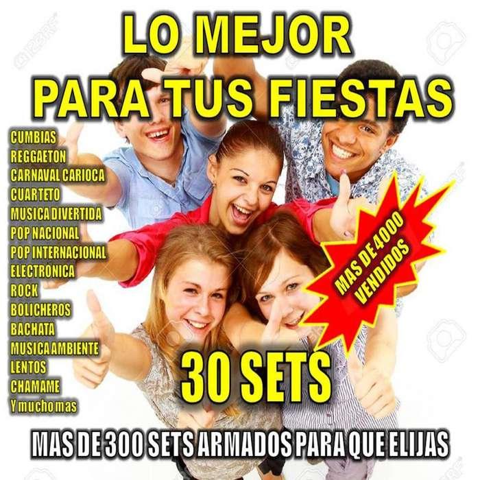 Musica enganchada 30 tandas Fiestas Cumpleaños Eventos