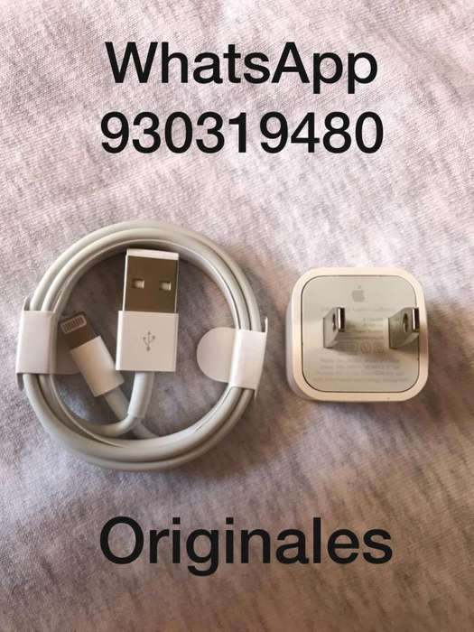 Cargador iPhone Cable Lightning Y Cubo